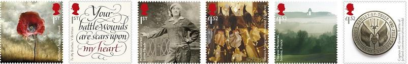 Engeland 2016 postzegel