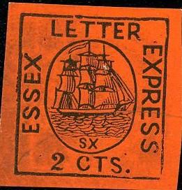 vals exemplaar met SX onder schip