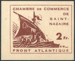 2 Franc proefdruk