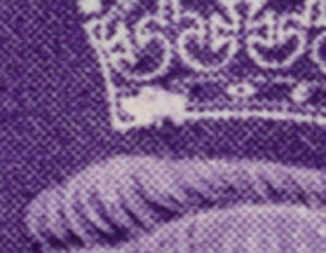 Gb 3 d plaatfout kroon a