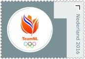 Olympische Spelen 2016 zegel 1