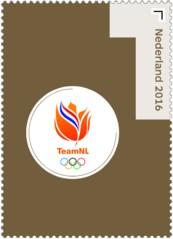 Olympische Spelen 2016 zegel 2