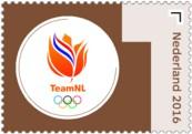 Olympische Spelen 2016 zegel 3