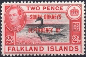 South Orkney Islands 1944 Mi 3