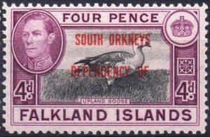 South Orkney Islands 1944 Mi 5