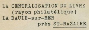 St Nazaire adres Livre