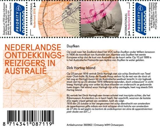 Vel Grenzeloos Nederland Australië - deel ontdekkingsreizigers