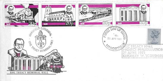 Eerstedag envelop KWVR uit 1981.