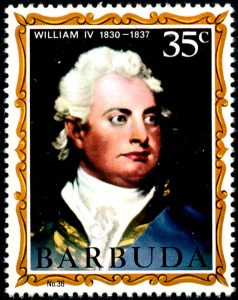 Barbuda William IV No 36