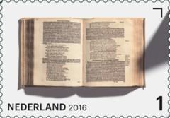 Jaar van het Boek postzegel 4