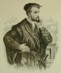 Jacques Cartier gravure