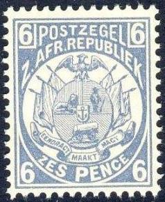 Transvaal Mi 19 a