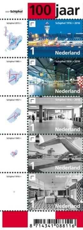 Vel 100 jaar Schiphol links