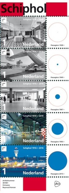 Vel 100 jaar Schiphol rechts