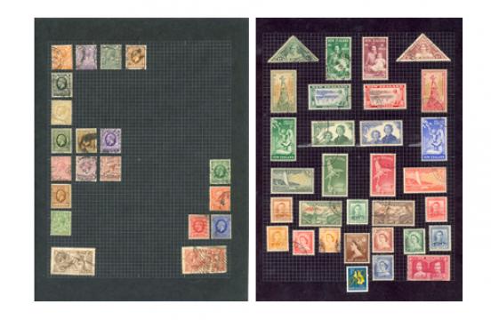 Freddie mercuries postzegelverzameling