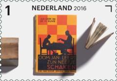Jaar van het Boek postzegel 9