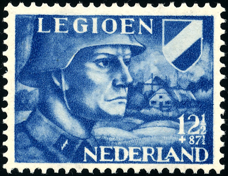 NVPH 403 - legioenzegel 1942
