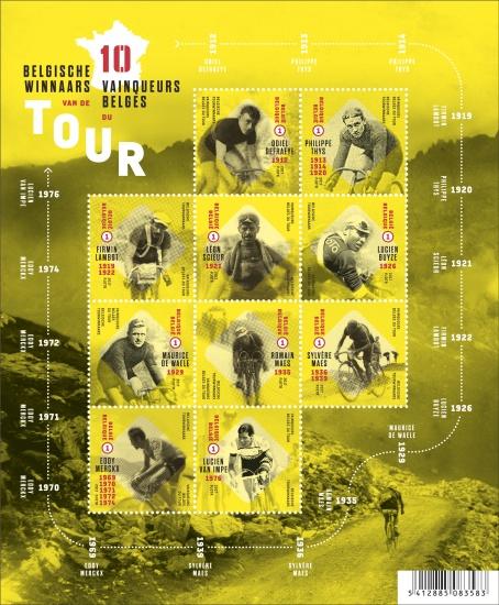 België kleurt geel De 10 Belgische Tourwinnaars