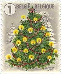 Onder de kerstboom Gezellige Nieuwjaarsuitgifte