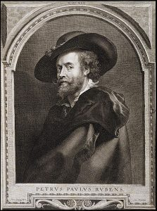 Paulus Pontius Portrait of Peter Paul Rubens