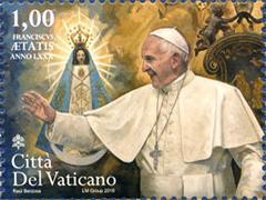 paus-postzegel