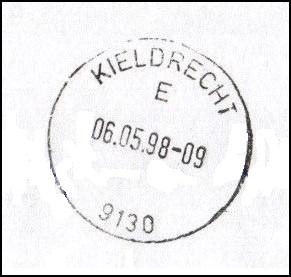 Kieldrecht stempel 1998