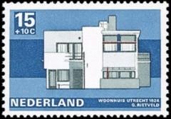 NVPH 921 - woonhuis Utrecht