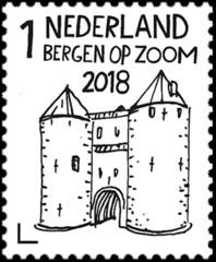 Mooi Nederland 2018 – Stadspoorten: Bergen op Zoom