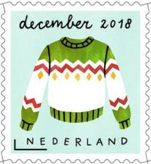 Decemberzegel 2018 - kersttrui