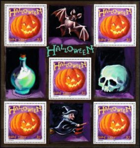 Halloween In Frankrijk.Halloween Postzegelblog