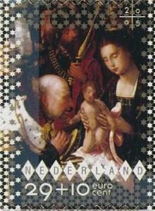 NVPH 2389 Goede Doelen Decemberzegel