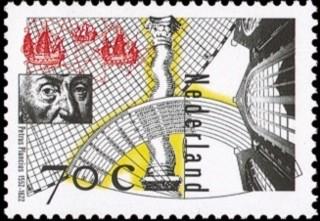 NVPH 1694 - Petrus Plancius 1552-1622