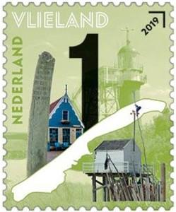Postzegel Mooi Nederland 2019 - Waddeneilanden Vlieland