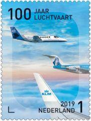 100 jaar luchtvaart postzegel 3