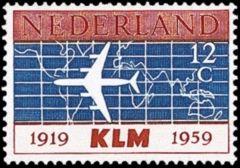 NVPH 729 - 40 jaar K.L.M.