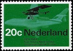 NVPH 910 - Fokker F 2 en F28