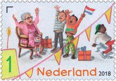 Verjaardagspostzegel - postzegel 4
