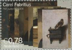 NVPH 2294 - Carel Fabritius - Het puttertje 1654