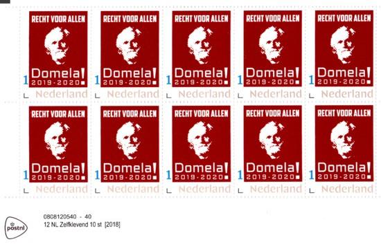 Persoonlijke Postzegels Ferdinand Domela Nieuwenhuis