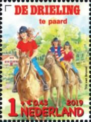 Kinderpostzegel 2019 - De Drieling