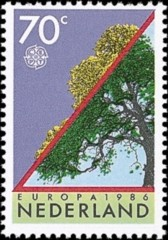 NVPH 1354 - oude boom