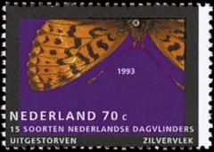 NVPH 1553 - zilvervlek