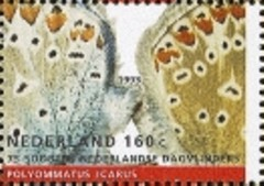 Zegel uit vel NVPH 1556 - Natuur en Miieu 1993