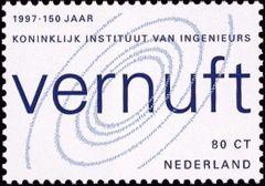 NVPH 1730 - 150 jaar Koninklijk Instituut van Ingenieurs